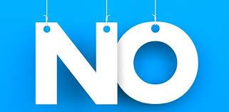 Saying No